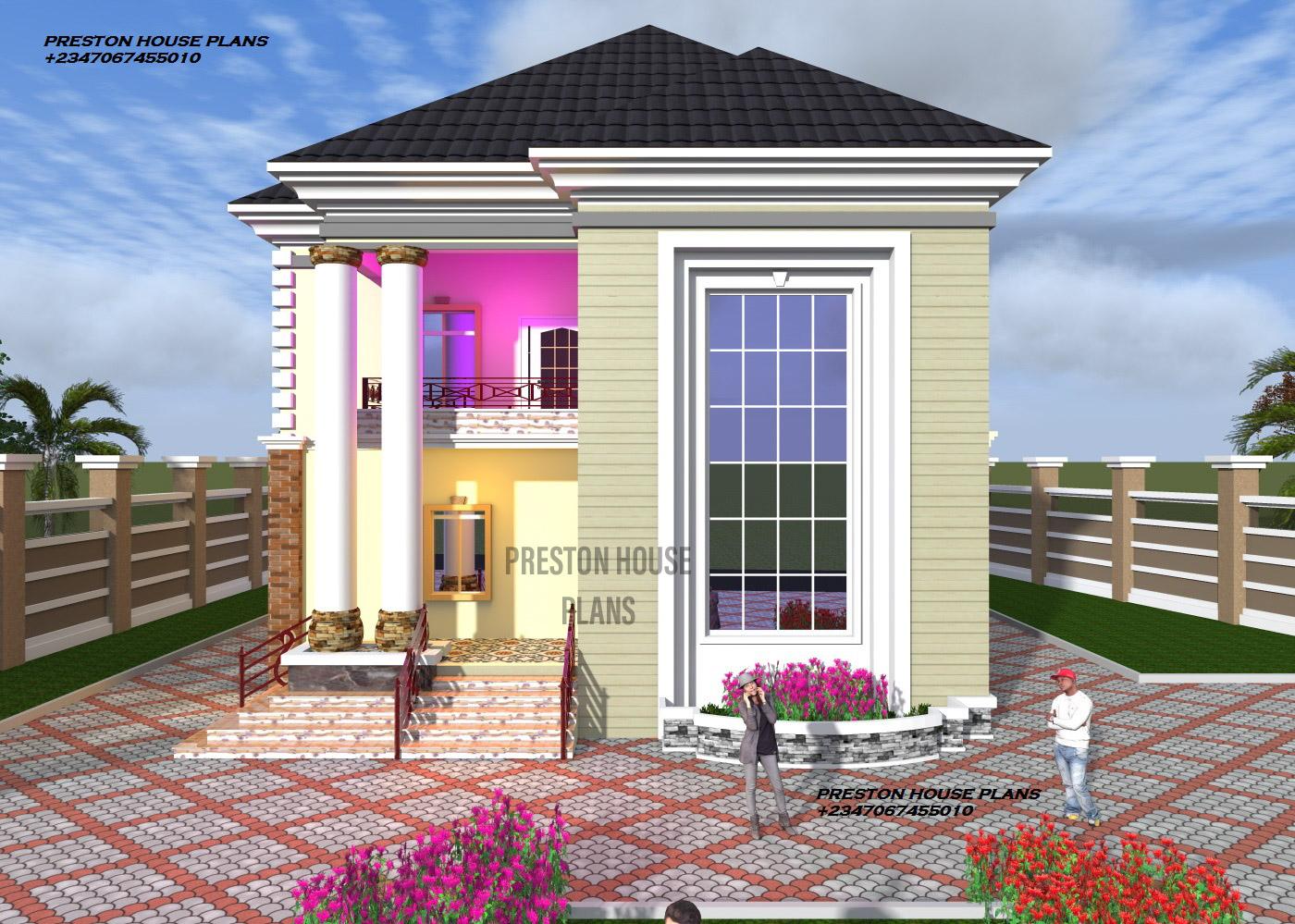 Modern 5 Bedroom House Plan – Preston House Plans