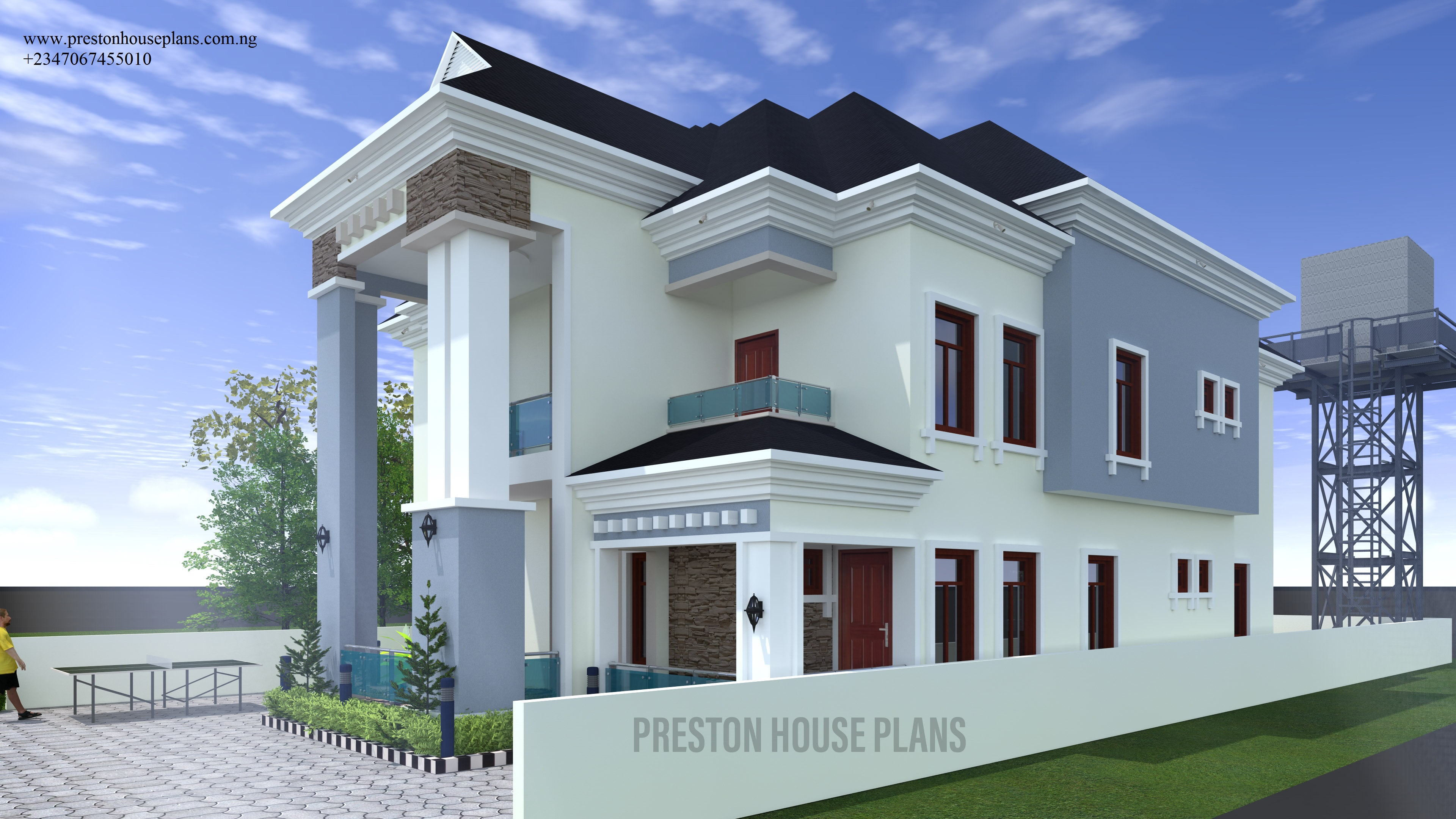 Five bedroom house plan