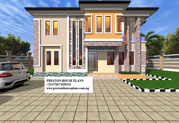Five bedroom home design