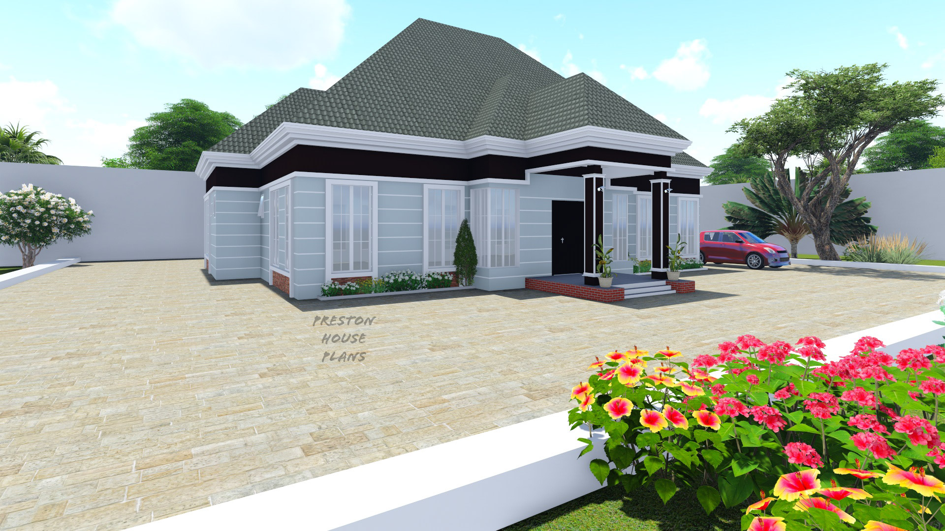 Four bedroom bungalow