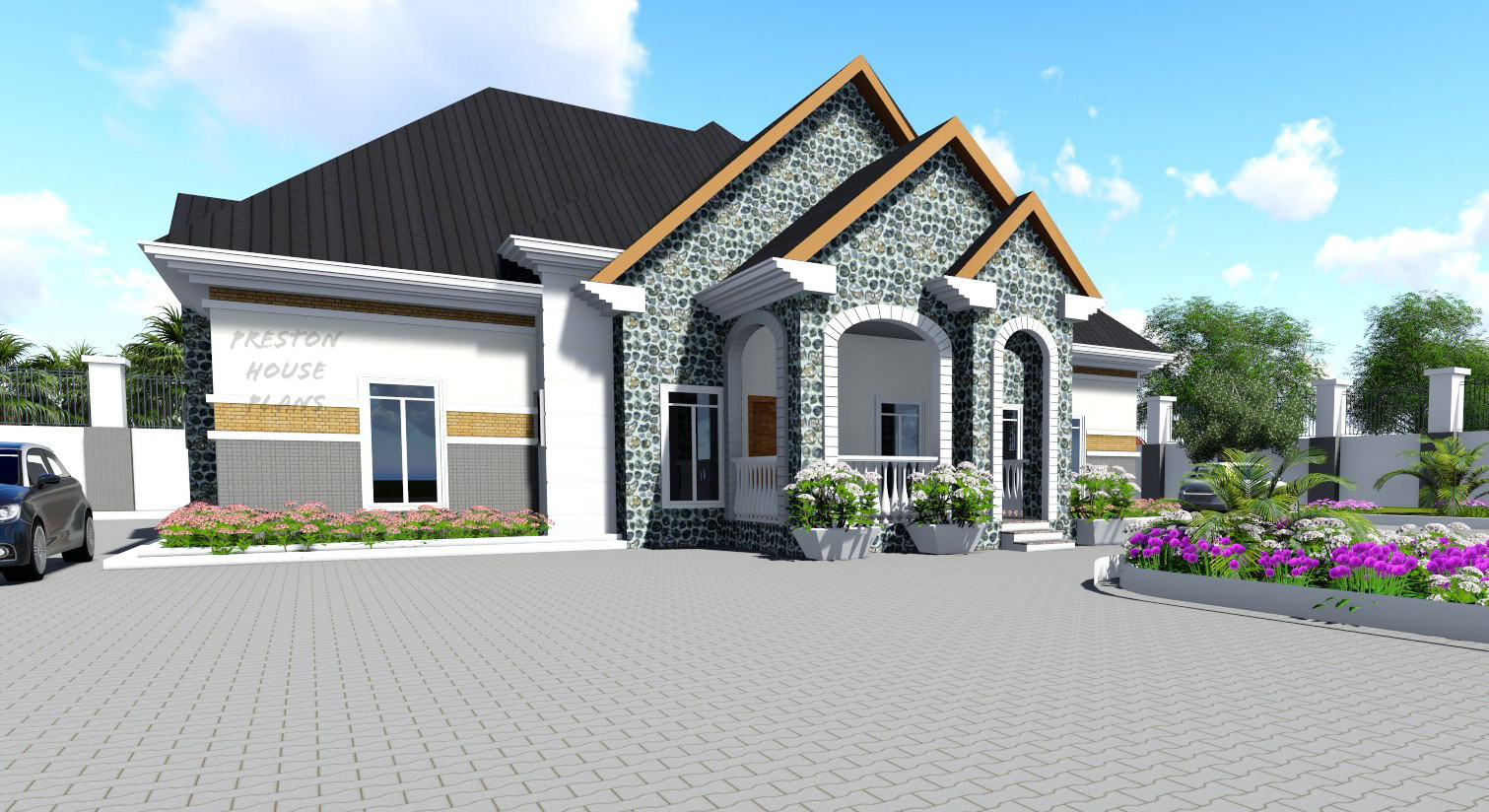 Four bedroom bungalow