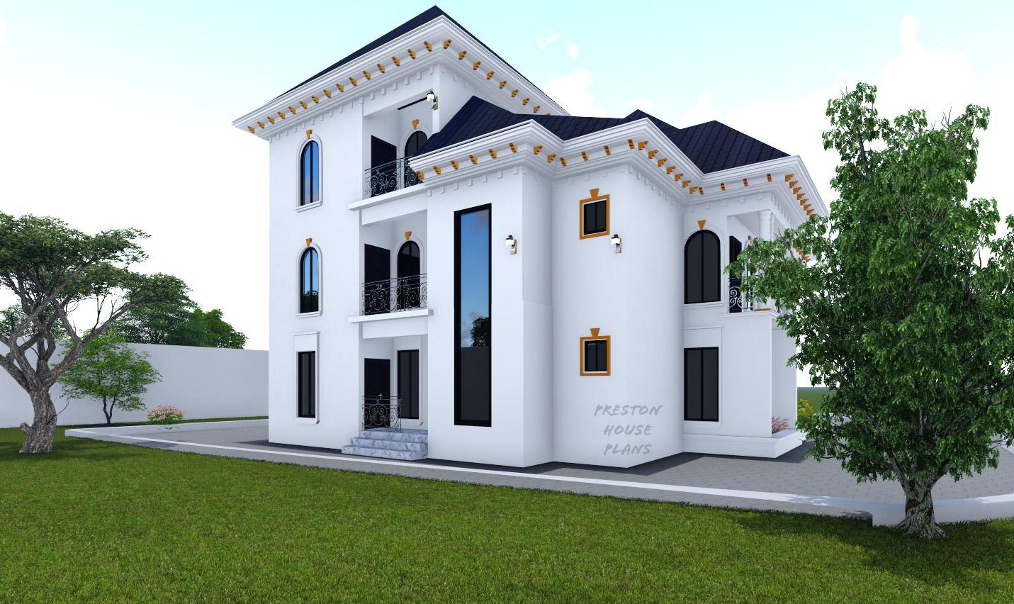 Six bedroom duplex