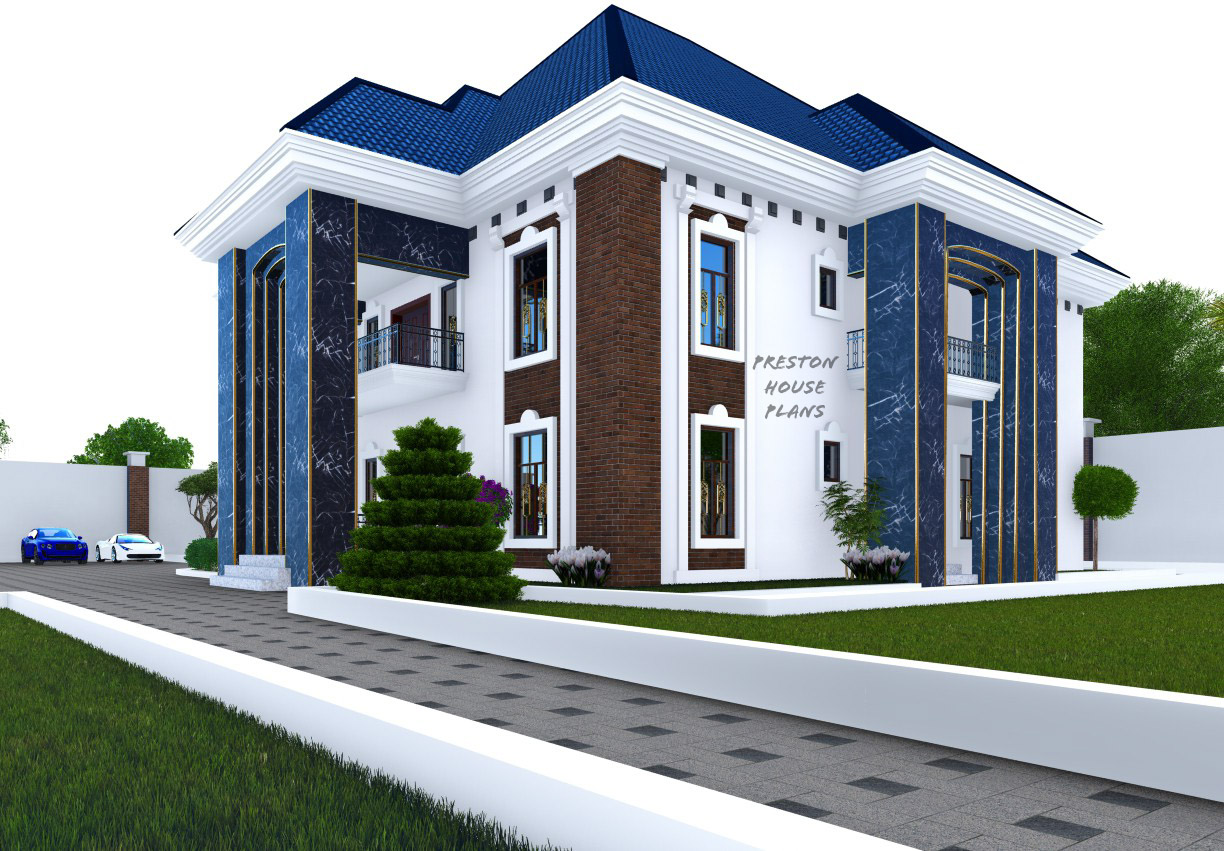 Side view of a five bedroom duplex