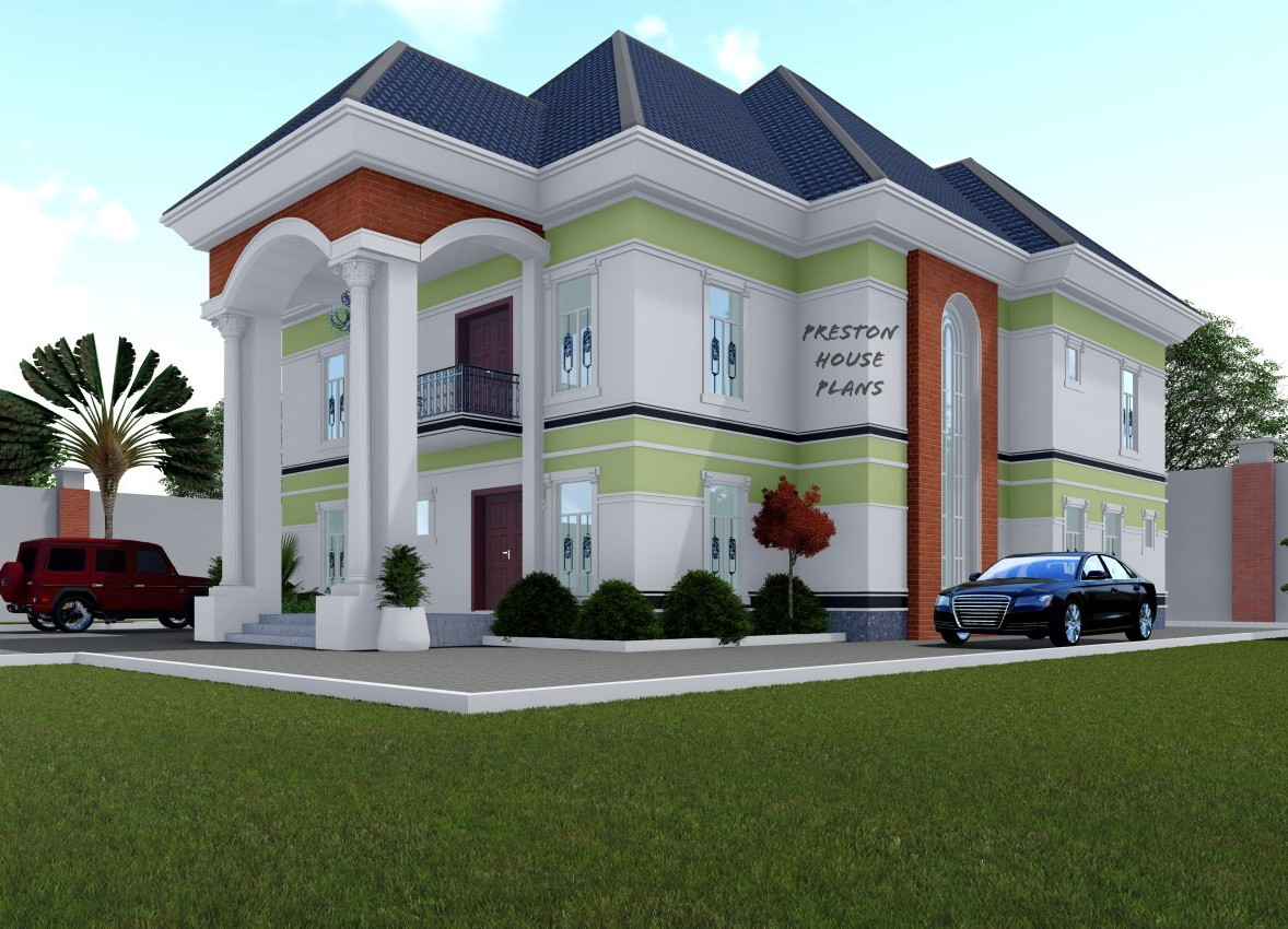 5 bedroom duplex with an enclosed porch