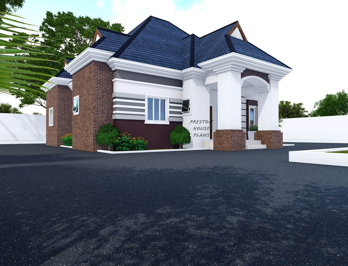 Two Faced 4 bedroom bungalow
