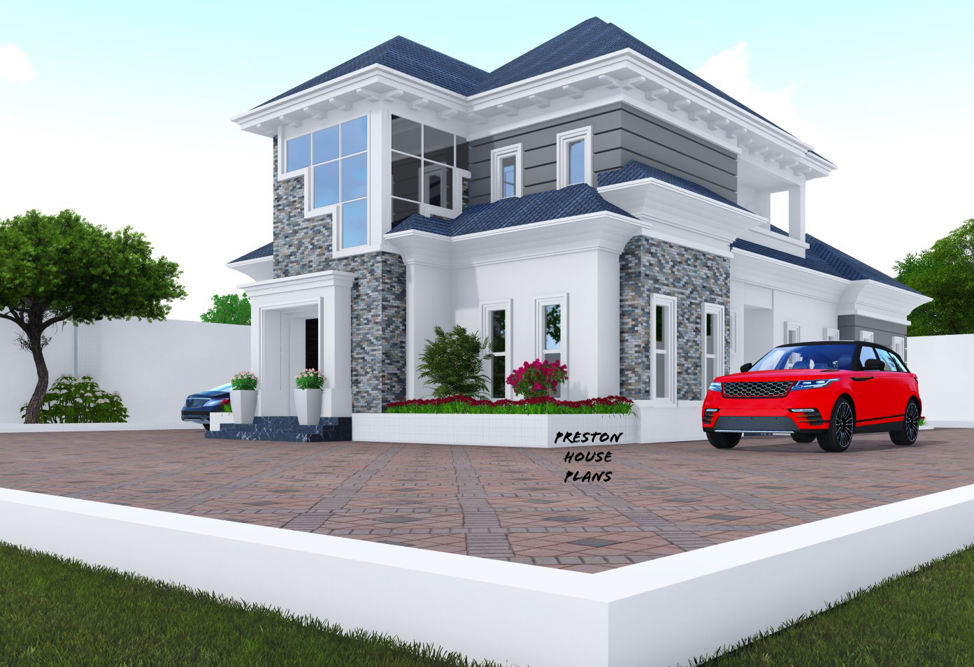 4 Bedroom Bungalow with a penthouse