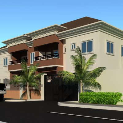 2 units of 2 bedroom flat and 2 units of 3 bedroom flat 1