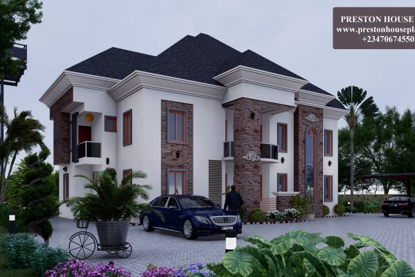 Seven bedroom contemporary Nigerian duplex