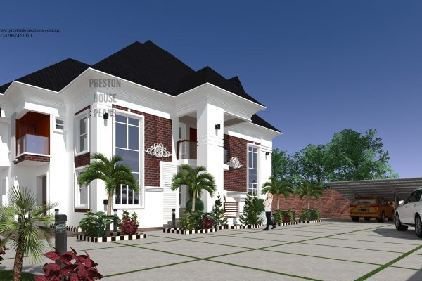 Five bedroom duplex with a penthouse