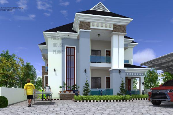 Five bedroom house plan