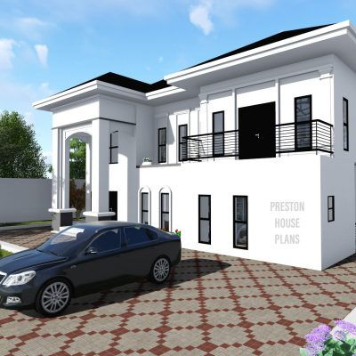 Five bedroom home design