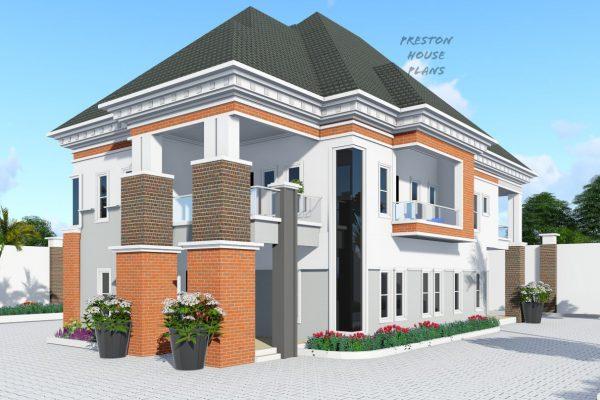 Five bedroom duplex side view