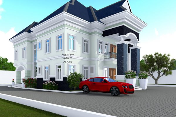 Five bedroom contemporary duplex