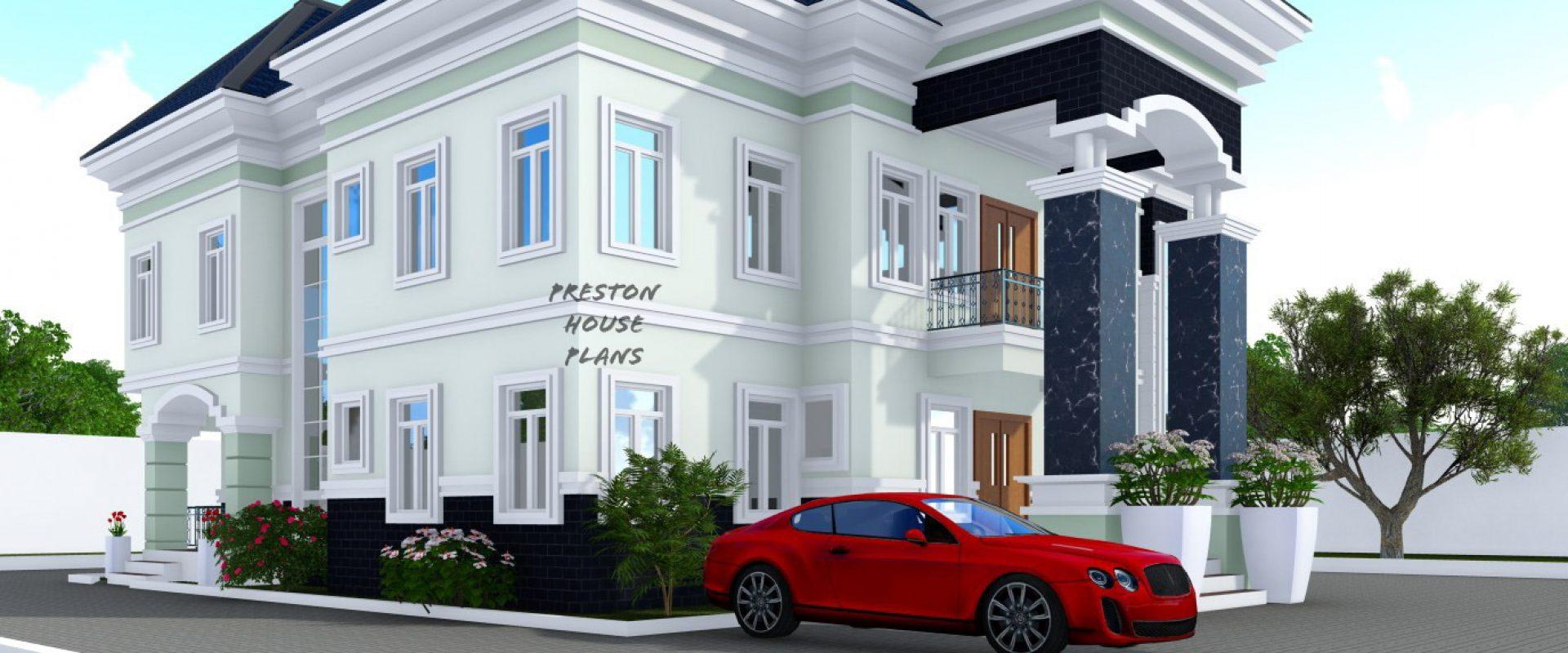 Five bedroom contemporary duplex